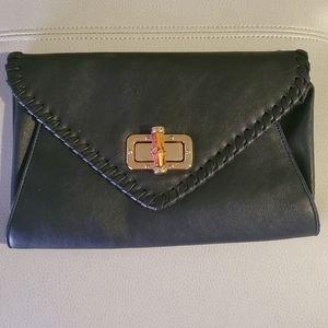 Black Apt.9 clutch purse